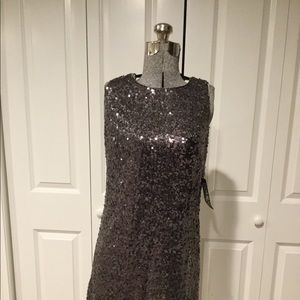 New NY and Co Sequin Dress Size Small